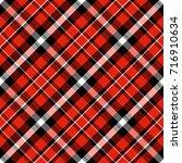 checkered seamless pattern.... | Shutterstock .eps vector #716910634