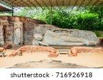 Small photo of The Gal Vihara or Gal Viharaya and originally the Uttararama is a rock temple of the Buddha situated in the ancient city of Polonnaruwa in Sri Lanka.