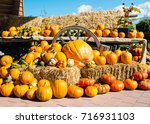 A Rustic Autumn Still Life With ...