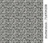 abstract broken textured space... | Shutterstock .eps vector #716934208