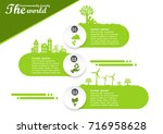 environmentally friendly world...   Shutterstock .eps vector #716958628