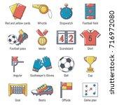 Soccer Football Icons Set....