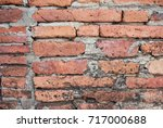 brick of wall in history place | Shutterstock . vector #717000688