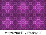 raster illustration. gentle ... | Shutterstock . vector #717004933
