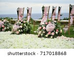 wedding setup | Shutterstock . vector #717018868
