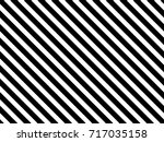 striped pattern. black and... | Shutterstock .eps vector #717035158