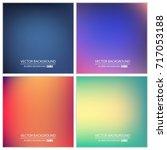 abstract creative concept... | Shutterstock .eps vector #717053188