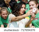 olivia munn at the los angeles... | Shutterstock . vector #717054370