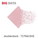 from chaos to system.... | Shutterstock .eps vector #717061543