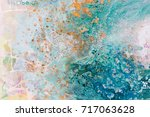 close up of abstract art with... | Shutterstock . vector #717063628