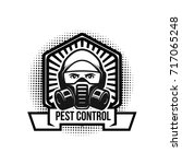 pest control illustration... | Shutterstock .eps vector #717065248