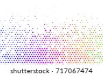light multicolor  rainbow... | Shutterstock .eps vector #717067474