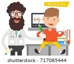 doctor concept design vector   Shutterstock .eps vector #717085444
