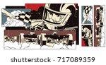 stock illustration. people in...   Shutterstock .eps vector #717089359