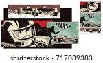 stock illustration. people in...   Shutterstock .eps vector #717089383