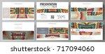business templates  hd format... | Shutterstock .eps vector #717094060