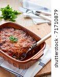 Moussaka   Greek Meat Dish