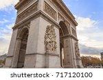 paris  france   december 11 ... | Shutterstock . vector #717120100