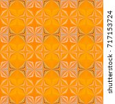beauty pattern with complex... | Shutterstock . vector #717153724
