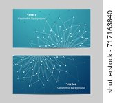 set of horizontal banners.... | Shutterstock .eps vector #717163840