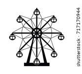 ferris wheel  | Shutterstock .eps vector #717170944