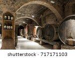 monte oliveto  tuscany italy ... | Shutterstock . vector #717171103