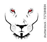 wild beast vector | Shutterstock .eps vector #717184834