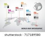 vector multipurpose infographic ... | Shutterstock .eps vector #717189580