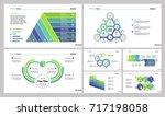 business structure diagram set | Shutterstock .eps vector #717198058