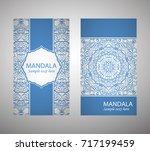 flyer  flyer  cover  pattern...   Shutterstock .eps vector #717199459