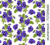 floral pattern background   Shutterstock .eps vector #717205660