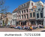 utrecht  netherlands   april 09 ... | Shutterstock . vector #717213208