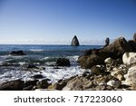 nature ocean fantastic... | Shutterstock . vector #717223060