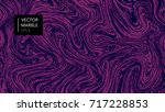 abstract marble pattern  wood... | Shutterstock .eps vector #717228853