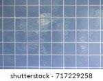 tiles floor. top view of... | Shutterstock . vector #717229258