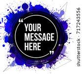 innovative vector quotation... | Shutterstock .eps vector #717243556