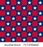 usa patriotic pattern  ideal... | Shutterstock .eps vector #717250660