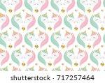 love. valentine's day. vector...   Shutterstock .eps vector #717257464