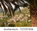 lastovo old town  lastovo... | Shutterstock . vector #717257656