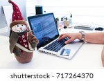 shopping online with credit... | Shutterstock . vector #717264370