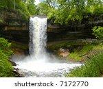 minnehaha falls   Shutterstock . vector #7172770