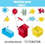 educational children game.... | Shutterstock .eps vector #717286708