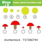 children educational game.... | Shutterstock .eps vector #717286744