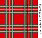 seamless tartan pattern... | Shutterstock .eps vector #717294259