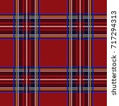 seamless tartan pattern... | Shutterstock .eps vector #717294313