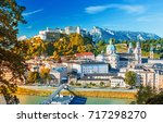 Beautiful View On Salzburg...