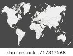 world map | Shutterstock .eps vector #717312568