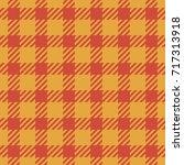 tartan seamless pattern... | Shutterstock .eps vector #717313918