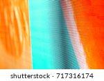 Blurred Led Screen Closeup....