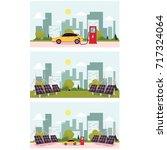 vector flat cartoon alternative ... | Shutterstock .eps vector #717324064